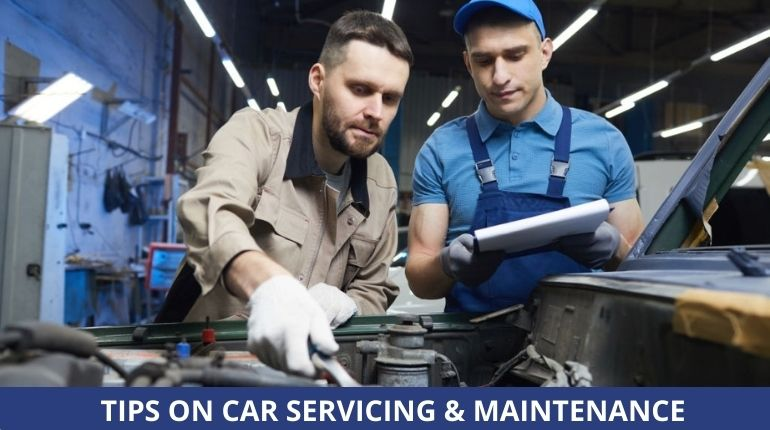 car servicing UK