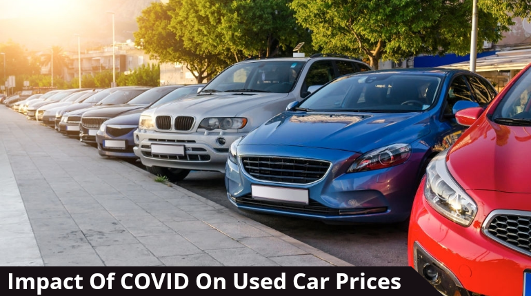 used car prices UK